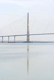 Normandy bridge royalty free stock images