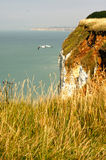NORMANDY - cliffs Royalty Free Stock Image