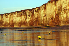 NORMANDY - cliffs Stock Image