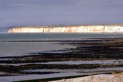 NORMANDY - cliffs Royalty Free Stock Photos