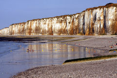 NORMANDY - cliffs Stock Photography