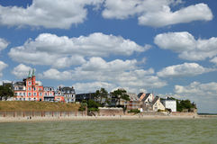 Normandy coast royalty free stock images
