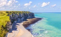 Normandy Coastline Stock Image