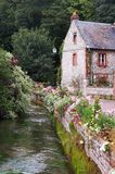 Normandy cottage royalty free stock photography