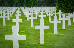 Normandy Graves Royalty Free Stock Photos