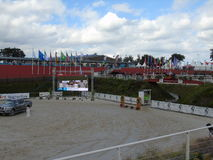Normandy Horse Show Stock Photography