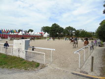 Normandy Horse Show Royalty Free Stock Photography