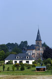 Village in Normandy country Royalty Free Stock Images