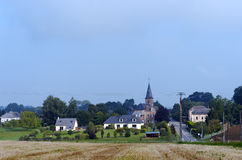 Village in Normandy country Royalty Free Stock Photo