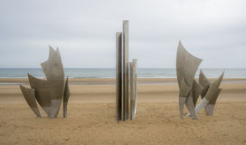 Normandy Memorial Royalty Free Stock Photography