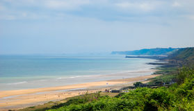Omaha beach normandy Stock Photos