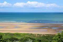 Normandy Omaha Beach Royalty Free Stock Photos