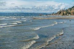 Normandy Park Shoreline 3 Stock Photography