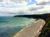 Normandy plaża, Francja Fotografia Stock