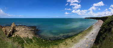 Normandy Point Du Hoc Royalty Free Stock Image