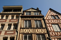 normandy rouen royaltyfria foton