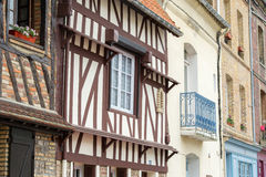 Normandy street Royalty Free Stock Images