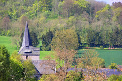 Normandy village Stock Photography