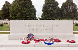 Normandy war memorial Royalty Free Stock Photography