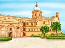 Normannische Kirche in Palermo, Sizilien Stockfoto