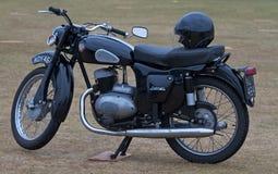 Normannisches Motorrad lizenzfreie stockfotos