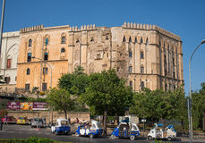 The Normans Royal Palace of Palermo. Sicily, Italy. Royalty Free Stock Photography