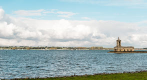 Normanton Church in Rutland Water Park, England Stock Images