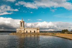 Normanton Church in Rutland Water Park, England Royalty Free Stock Photo