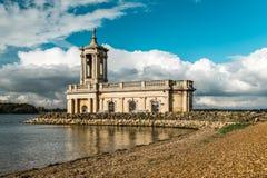 Normanton Church in Rutland Water Park, England Royalty Free Stock Photography