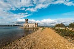 Normanton Church in Rutland Water Park, England Royalty Free Stock Photos