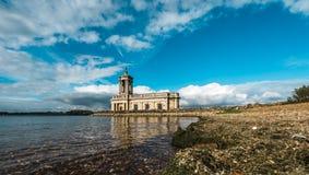 Normanton Church in Rutland Water Park, England Stock Image