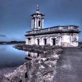 Normanton-Kirche Rutland Lizenzfreie Stockfotografie