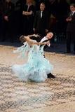 Norme de salle de bal - la danse maîtrise 2012 Photo libre de droits
