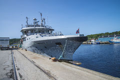 Nornen-class, patrol vessel Royalty Free Stock Image