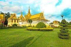 Norodom do rei do lugar do rei do khmer de Camboja Royal Palace sihankmony Foto de Stock Royalty Free