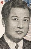 Norodom Sihanouk Fotografia Stock