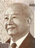 Norodom Sihanouk Imágenes de archivo libres de regalías