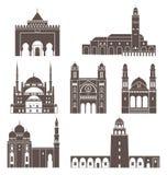 Norr Afrika Abstrakt begrepp vektor illustrationer
