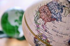norr Amerika jordklot Arkivbilder