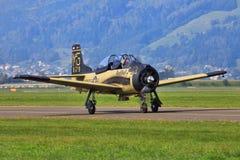 Norr - amerikan T-28B royaltyfri foto