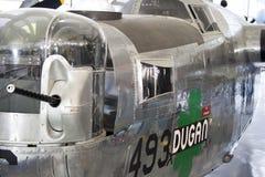 Norr - bombplan för amerikan B-25 Mitchell Royaltyfri Fotografi