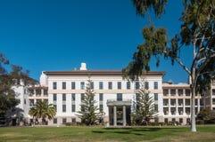 Norr byggnad för fysiska vetenskaper av UCSB, Santa Barbara California arkivfoton