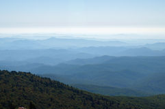 norr carolina berg Arkivbild