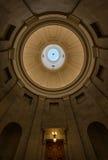 Norr Carolina Capitol kupol Arkivfoton