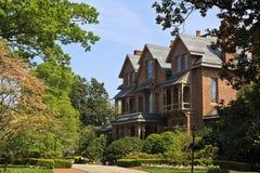 Norr Carolina Executive Mansion arkivfoto