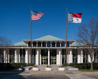 Norr Carolina Legislative byggnad Arkivbilder