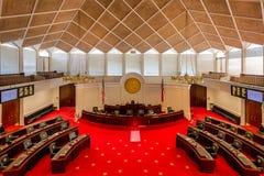 Norr Carolina Senate kammare Fotografering för Bildbyråer