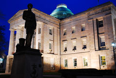 Norr Carolina State Capitol, Raleigh Royaltyfri Bild