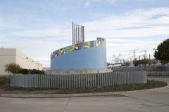 Norr Carrollton Frankford station Texas USA Arkivfoto
