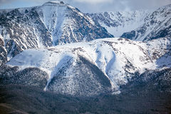 Norr Chuisky Ridge Royaltyfri Foto